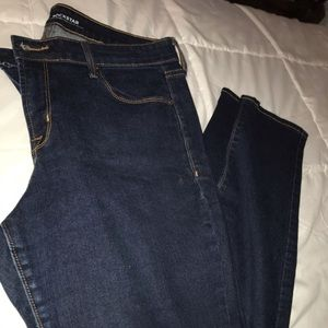 Old Navy rockstar jeans (size 10 short)